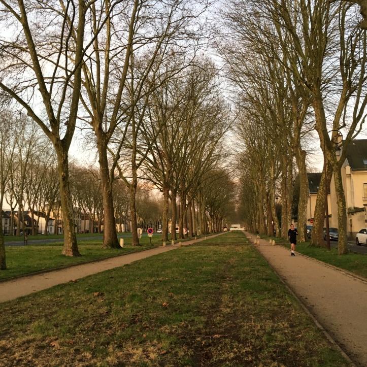 Jogging avenue de Paris (7)