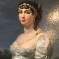 Auguste-Amélie de Bavière, par Appiani (détail) © Corinne Martin-Rozès
