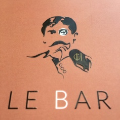 Au bar du Grand Hôtel de Cabourg © Corinne Martin-Rozès