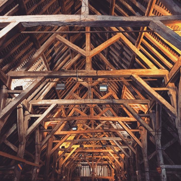 Halle du marché de Dives-sur-mer (XIVème siècle) © Corinne Martin-Rozès