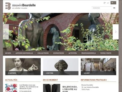 Page d'accueil Musée Bourdelle